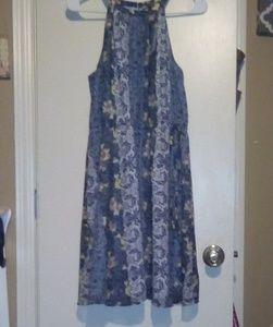 NWT Loft Floral Knee Length Dress